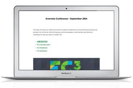 Un mode présentation dans Evernote (Mac) | Evernote, gestion de l'information numérique | Scoop.it