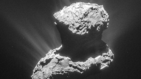 Rosetta's comet contains ingredients for life | Think outside the Box | Scoop.it