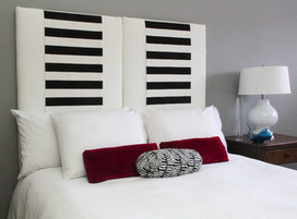 Make an Upholstered Headboard You Can Change on a Whim   Home and Garden Ideas   Scoop.it