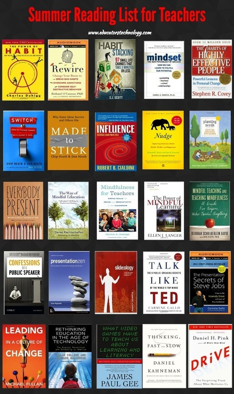 A Great Summer Reading List for Teachers ~ Educational Technology and Mobile Learning | Educational Technology | Scoop.it