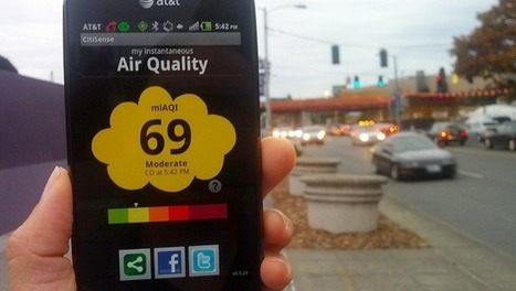 Check air quality on your cellphone. Soon. - Interest to world | interest to world | Scoop.it