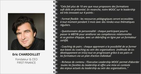 Interview Eric Chadoillet FIRST FINANCE | Numérique & pédagogie | Scoop.it
