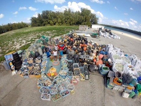 NOAA PIFSC Coral Reef Ecosystem Program Removed 32,201 Pounds of Marine Debris from Midway Atoll in the Papahānaumokuākea Marine National Monument! | Marine Litter | Scoop.it