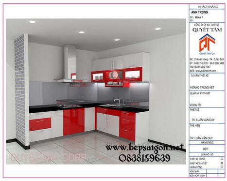 bepsaigon.net - Tủ bếp đẹp gia đình nhà cô TÂM Tân bình - tu bep hien dai, tu bep dep, tu bep, ke bep, ke bep hien dai | Tủ bếp Acrylic - MFC | Scoop.it