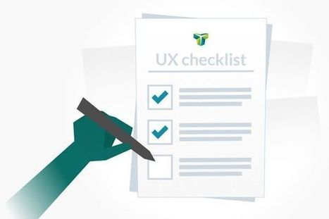 The 23-Point UX Design Checklist | Expertiential Design | Scoop.it