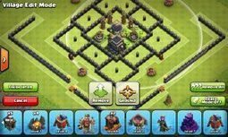 Fortress - Town Hall 9 Dark Elixir Farming Base | Clash of Clans Tips | Scoop.it
