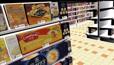 Online shopping goes virtual with a perfect recreation of a supermarket (and you never need to leave the sofa to walk through it) | Marketology | Scoop.it