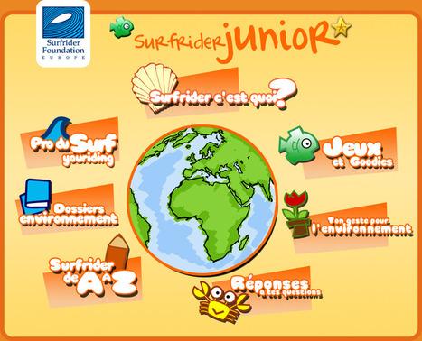 Surfrider Junior - Surfrider Foundation Europe - For Kids - Surfrider Foundation Europe | Génération en action | Scoop.it