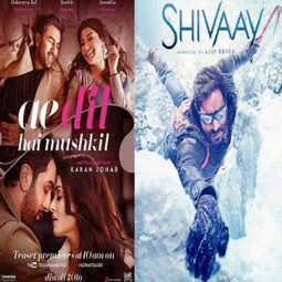 Ae Dil Hai Mushkil Beats Shivaay In Advance Booking | magazinetoday | Scoop.it