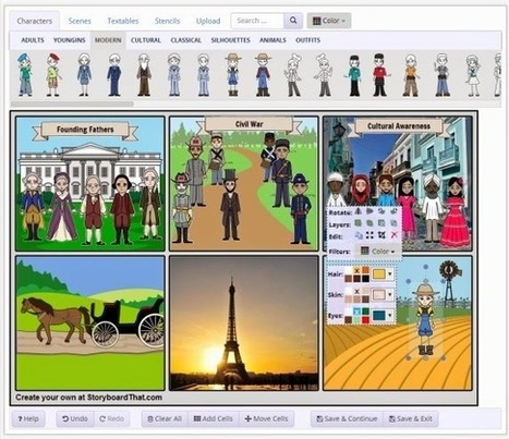 Free Technology for Teachers: Free Webinar - Storyboards in the Classroom - Stories, Graphic Organizers, and More | aprendizaje multimedia | Scoop.it