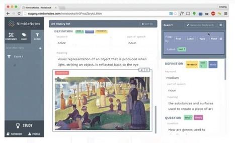 NimbleNotes, mejora nuestro estudio con flashcards y seguimiento de progreso   CLIL is possible with ICT   Scoop.it