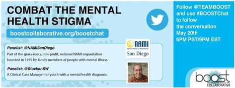 Join Our Twitter Chat on the Mental Health Stigma | Mental health stigma | Scoop.it