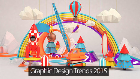 Top 22 Designing Trends For 2015 That Are Must For Graphic Designers #design #inspiration | Graphic Design | Scoop.it
