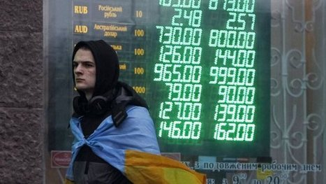 Looking for signs of life in Ukraine's shell-shocked financial markets - Quartz | Society | Scoop.it