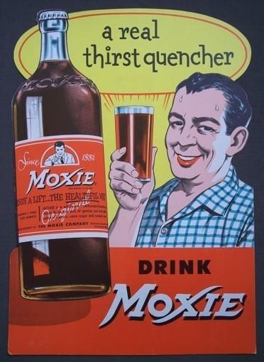 Vintage MOXIE soda store advertising display - The Vintage Village | Vintage Passion | Scoop.it