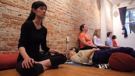 Mindful Movement Becomes a 'Revolution' as Stressed Americans Look for Reliefi - Voice of America   Challenges of Addiction   Scoop.it