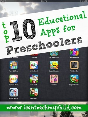 Top 10 Educational Apps for Preschoolers | Education Tips and Info | Scoop.it