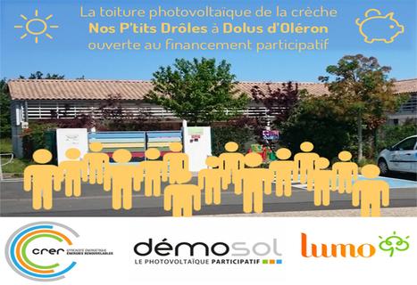 Dolus d'Oléron : premier projet solaire participatif DémoSol en Charente-Maritime | Lumo | Scoop.it