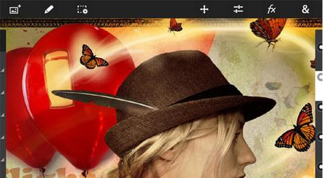 Vidéo : Le Photoshop tactile dévoilé par Adobe ! - SoonNight   Adobe illustrator   Scoop.it