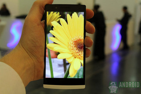 Oppo Find 5 Smartphone.. hands-on photo gallery | Sniffer | Scoop.it