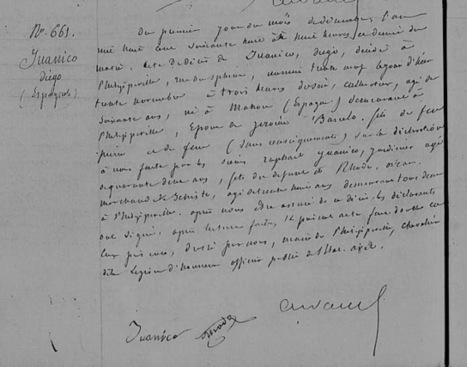 Dossier de naturalisation fantôme retrouvé | Geneajunkie | L'écho d'antan | Scoop.it