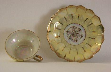 "Vintage ""Victoria Ceramics"" Matching teacup and Saucer set - The Vintage Village | Vintage Passion | Scoop.it"