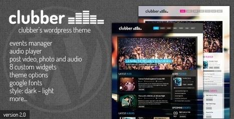 Top 20 WordPress Themes for Entertainment Blogs | WordPresss | Scoop.it