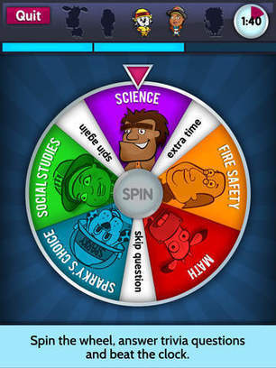 Sparky's Brain Busters - Top Fun Trivia Game App for Fire Safety Expertise - Fun Educational Apps for Kids   Daily Free Kids Apps   Scoop.it