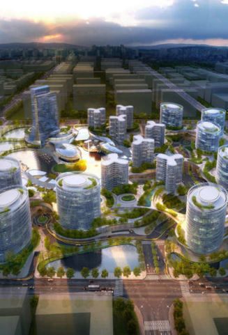 Jinshui Science and Technology Park, GDS Architects | Arquitectura Bioclimatica | Scoop.it