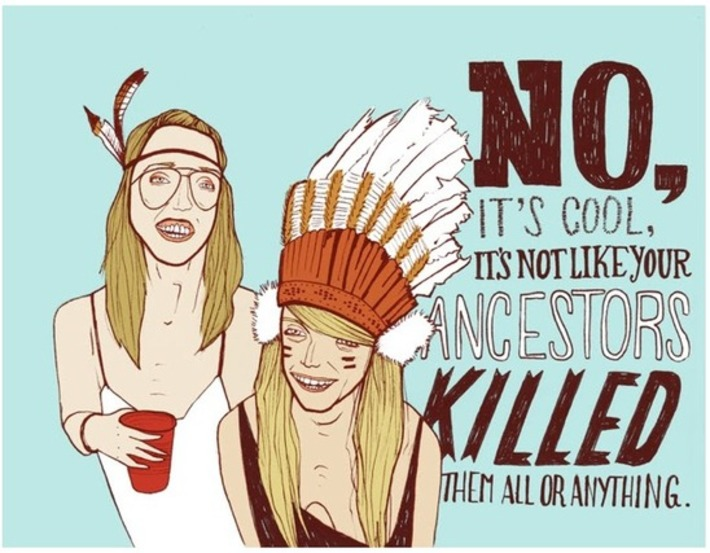 The Difference Between Cultural Exchange and Cultural Appropriation | Colorful Prism Of Racism | Scoop.it