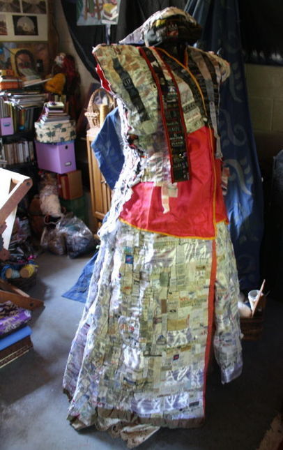 Clothing labels serve as canvas for local artist - Cecil Whig | Wearable Arts | Scoop.it