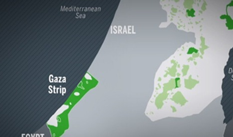 All you need to know about Gaza in one clear Animated Map | Technology in Business Today | Scoop.it