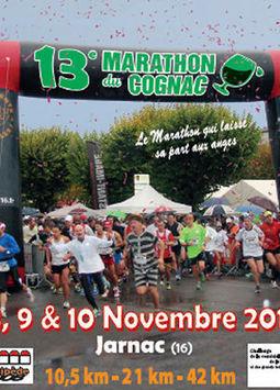 Marathon du Cognac, le 08/11/2013 à Bourg-Charente - Mon Vigneron | Agenda du vin | Scoop.it