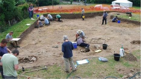Remains of small medieval castle unearthed in NW Wales | Monde médiéval | Scoop.it