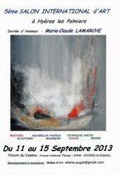 5ème Salon International d'Art - Expositions Hyères - Var   Actu Sud est - tourisme   Scoop.it