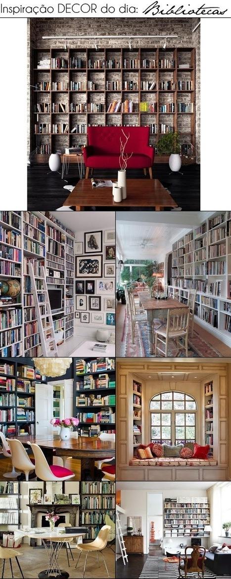 Decoração: Bibliotecas | Litteris | Scoop.it