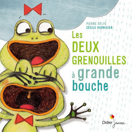 Les deux grenouilles à grandes bouches | Littérature jeunesse, roman album et autres | Scoop.it