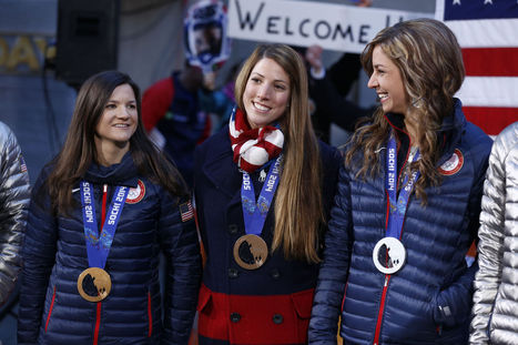 Top Olympic Moments for Team USA's Women, Just In Case You're Suffering from Sochi Withdrawal | Bellaboy | Scoop.it