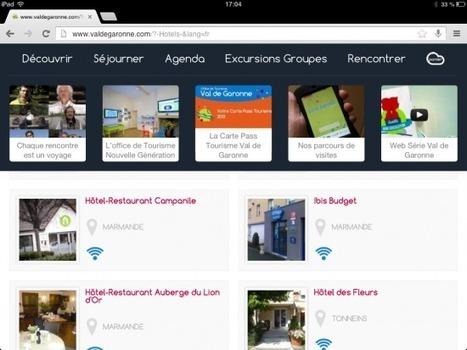 Le tour de France du web touristique : étape Val de Garonne « etourisme.info | Initiatives touristiques | Scoop.it