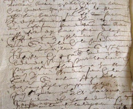 MODES de VIE aux 16e, 17e siècles » Archive du blog » Nicolas Bellier et ses enfants vendent une chambre de maison à Marans, 1632 | blog de Jobris | Scoop.it