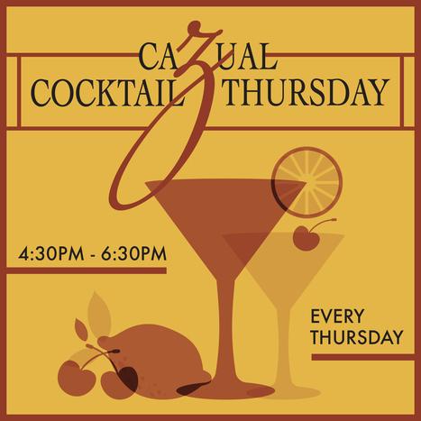 Cazual Cocktail Thursday   Letitia's Foodie Nation   Scoop.it