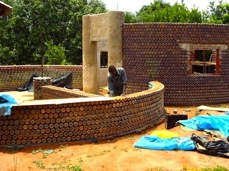 Africa's First Plastic Bottle House Rises in Nigeria | Ecology news, upcycling & recycling | Scoop.it