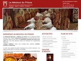 Avis Le méchoui du Prince - www.lemechouiduprince.com/ - Avis Site | Restaurant marocain - Le Mechoui du Prince | Scoop.it