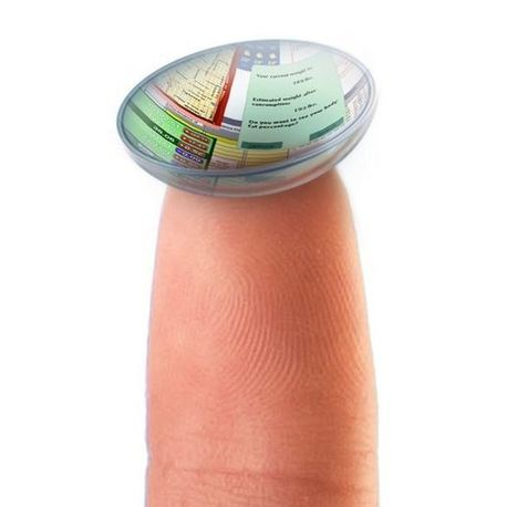 Will Smart Contact Lenses Be the Bluetooth Headsets of the Future?   Alchemy of Business, Life & Technology   Scoop.it