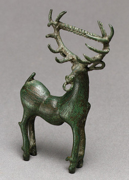 Brooch in the form of a stag [Caucasus region] (21.166.3)   Heilbrunn Timeline of Art History   The Metropolitan Museum of Art   Anthropology, Archaeology, and History   Scoop.it