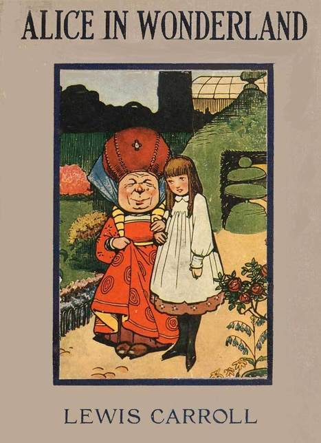 Public Domain images From a 1916 edition of Alice's Adventures in Wonderland, with illustrations by Gordon Robinson. | Uppdrag : Skolbibliotek | Scoop.it