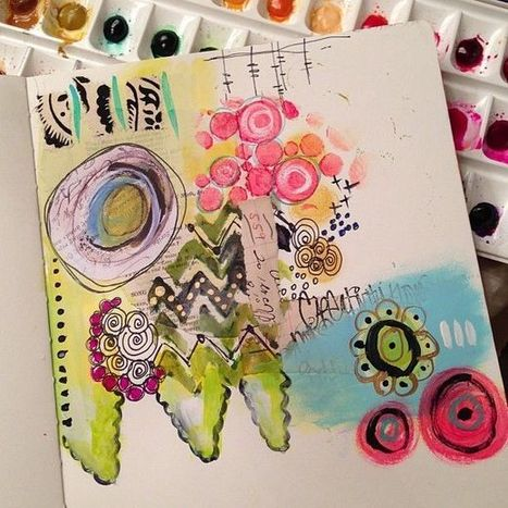 ART Journal Pages | Games for Learning English | Scoop.it