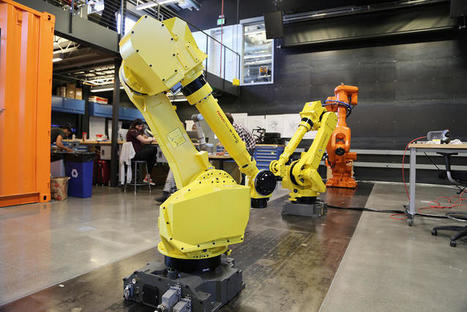 Exclusive: Inside Autodesk's Robotics Lab Of The Future | Architecture, design & algorithms | Scoop.it