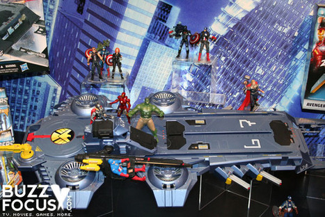 The Avengers: Photos of Iron Man & Captain America on S.H.I.E.L.D. Helicarrier | Avengers Movie Toys | Scoop.it
