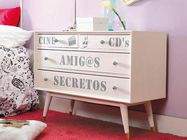 Fotos e ideas para renovar y redecorar muebles - Ideas para restaurar muebles viejos ...